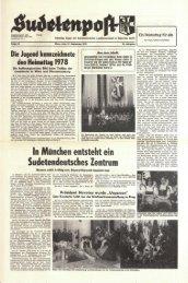 In München entsteht ein Sudetendeutsches Zentrum - Sudetenpost