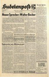 Neuer Sprecher: Walter Becher - Sudetenpost