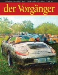 April - Porsche Club of America
