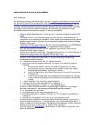 application for a quota work permit