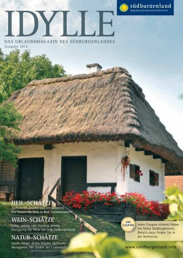 idylle 2013.pdf - Südburgenland Tourismus