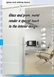 glass and sliding doors