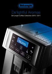 De'lightful Aromas - De'Longhi New Zealand