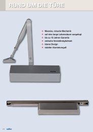 Rund um die Türe Teil 1 - Süd-Metall Beschläge GmbH