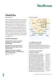 Suedafrika Impressionen STUD - Afrika Reisen