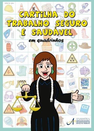 Cartilha do Trabalho Seguro e Saudável - Associação Nacional dos ...