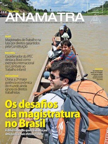 Os desafios da magistratura no Brasil - Anamatra