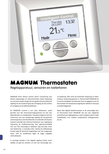 Thermostaten - documentatie