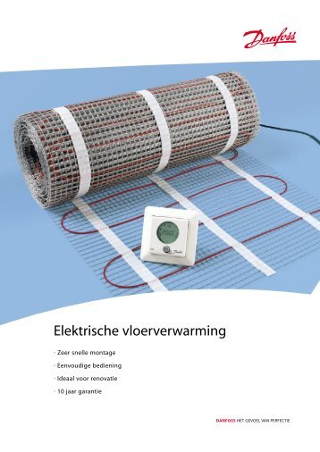 Elektrische vloerverwarming - Danfoss BV