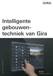 Intelligente gebouwen- techniek van Gira - documentatie