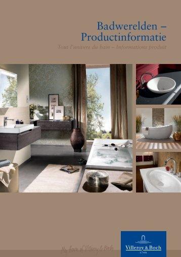 Plans de toilette - Villeroy & Boch