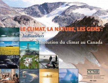 Le climat, la nature, les gens - CCME