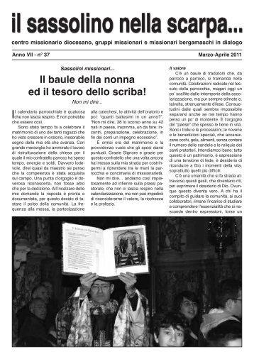 Marzo - Centro Missionario Diocesano di Bergamo