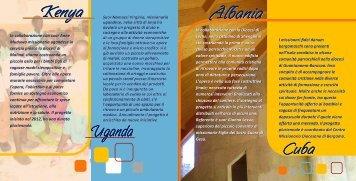 Scarica la brochure stampabile - Centro Missionario Diocesano di ...