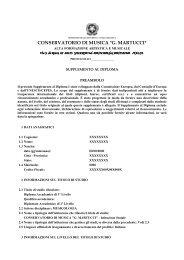 versione italiana - Conservatorio G. Martucci di Salerno
