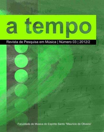A Tempo - Revista de Pesquisa em Música - n°3 - Fames