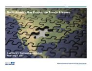 North America Gas Production Trends & Issues - Gas/Electric ...