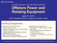 Offshore Power and - Gas/Electric Partnership