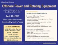 Equipment Developments - Gas/Electric Partnership