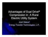 Dual Drive Technology - Gas/Electric Partnership