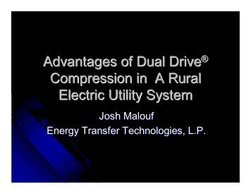 Dual Drive Technology - Gas/Electric Partnership
