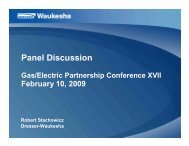 Dresser Waukesha - Gas/Electric Partnership