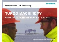 TURBO MACHINERY - Gas/Electric Partnership