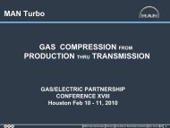 Design and Development for Wet Gas Application - Gas/Electric ...