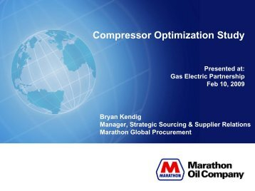 Production Compression Fleet Optimization Case Study