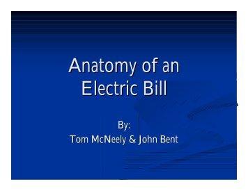 Anatomy of a Light Bill - Gas/Electric Partnership