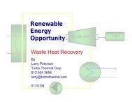 Turbo Thermal Corp - Gas/Electric Partnership