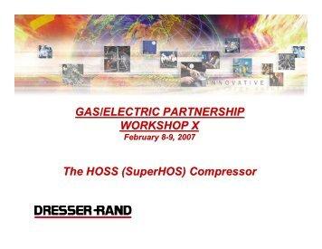 (SuperHOS) Compressor - Gas/Electric Partnership