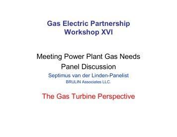 Septimus van der Linden, Brulin Associates, L.L.C. - Gas/Electric ...