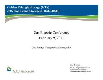 Brian Jones, AGL Resources - Gas/Electric Partnership