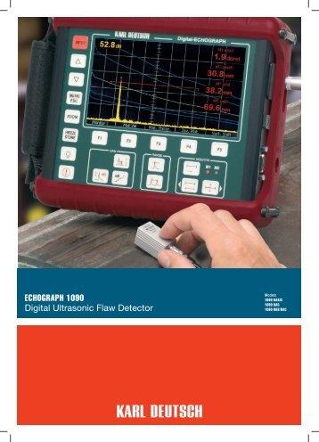 EchoGraph 1090 - NDT Technologies (P)