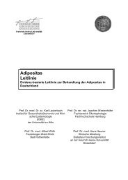 Adipositas Leitlinie - Europäisches Institut für Lebensmittel