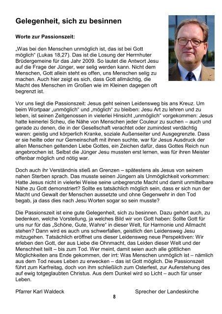 Markus & Johannes - Evangelische Südstadtgemeinde Kassel