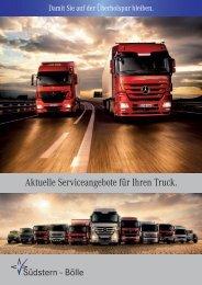 Aktuelle Serviceangebote für Ihren Truck. - Bölle AG + Co KG
