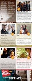 Programma PROGRAMMA - Südtirol Jazzfestival