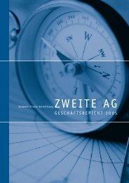 gesch ä ftsbericht 2 0 0 5 - Südwest Finanz Vermittlung ...