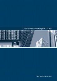 Geschäftsbericht 2007 - Südwest Finanz Vermittlung ...