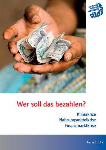 Wer soll das bezahlen? - SÜDWIND-Institut