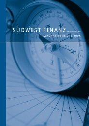 1. - Südwest Finanz Vermittlung Aktiengesellschaften