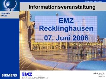 Drehstrom-Asynchron- motoren - bei EMZ