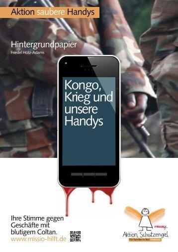 (2012): Kongo, Krieg und unsere Handys - SÜDWIND-Institut