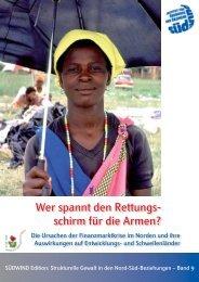 Wer spannt den Rettungs- schirm für die Armen? - SÜDWIND-Institut