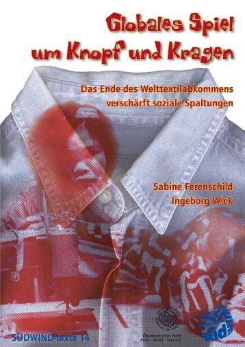 Globales Spiel um Knopf und Kragen - SÜDWIND-Institut