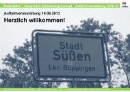Integriertes Entwicklungskonzept ... - Stadt Süßen