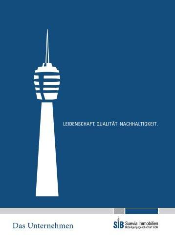 Download Imagebroschüre (PDF, 1.6 MB) - Suevia Immobilien