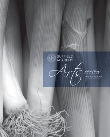 2012 Arts Review - Suffield Academy
